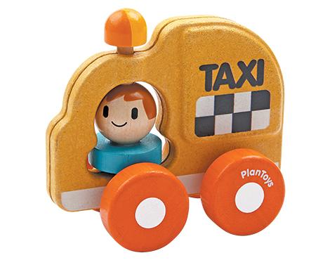 ของเล่นไม้ ของเล่นเด็ก ของเล่นเสริมพัฒนาการ Taxi หนูน้อยแท็กซี่ (ส่งฟรี)