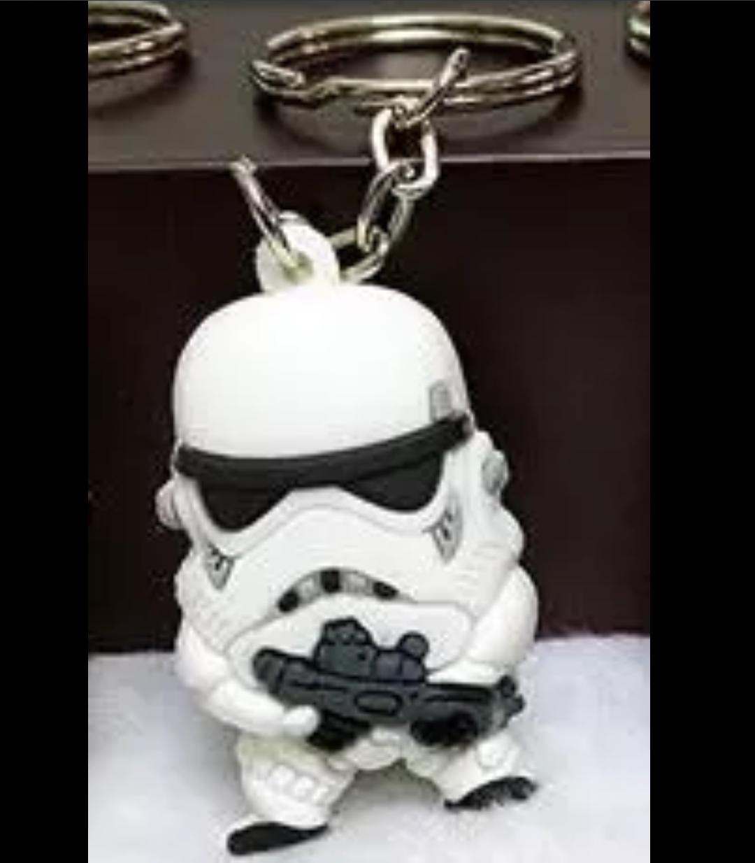 Storm Trooper minifigure Star War Keychain