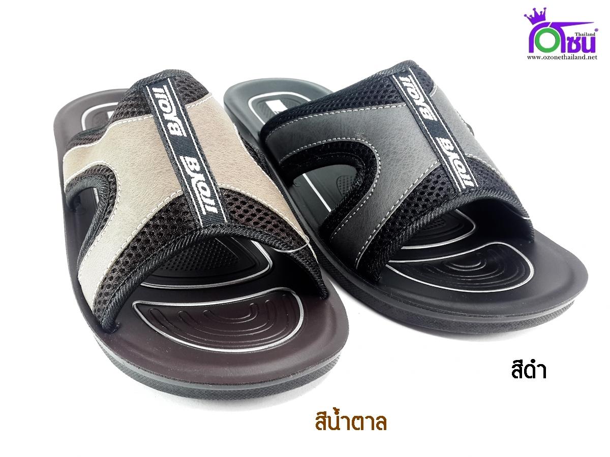 รองเท้าแตะหนัง Baoji PM821 เบอร์ 39-44