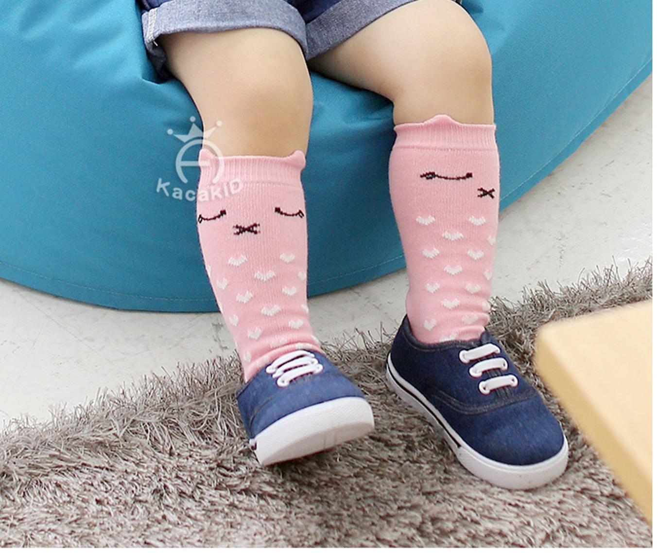 ถุงเท้าเด็กกันลื่น ไซส์ 10-12,12-14 ซม. MSH64