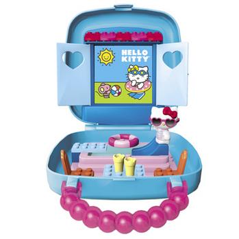 Hello Kitty Pool Party เมก้าบล๊อค MG10875 [ส่งฟรี]