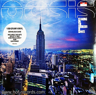 Oasis - Standing On The Shoulder Of Giants 1Lp N.