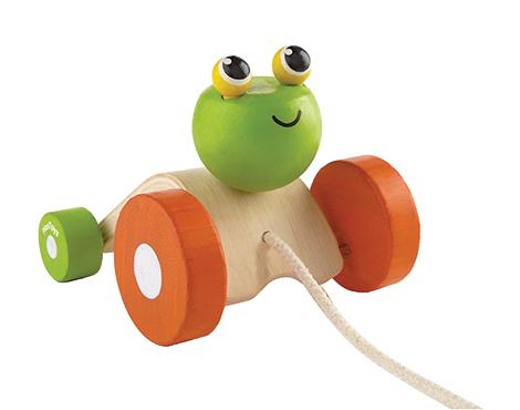 ของเล่นไม้ ของเล่นเด็ก ของเล่นเสริมพัฒนาการ Jumping Frog กบกระโดด (ส่งฟรี)