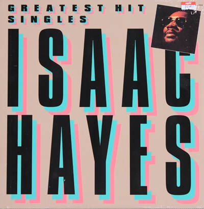 ISAAC HAYES - GREATEST HITS SINGLES 1LP N.