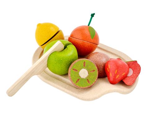 ของเล่นไม้ ของเล่นเด็ก ของเล่นเสริมพัฒนาการ Assorted Fruit Set ชุดผลไม้ (ส่งฟรี)