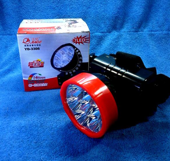 ไฟฉายคาดหัว 7 LED ยี่ห้อ JIAGE รุ่น YD-3306