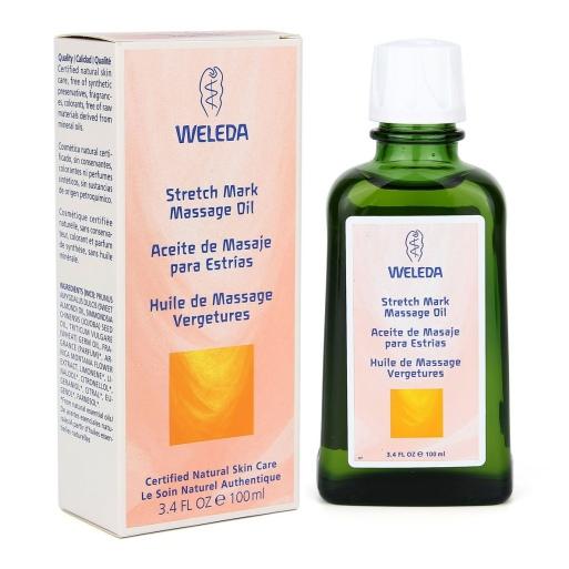 น้ำมันนวดลดรอยแตกลาย Weleda Stretch Mark Massage Oil (100ml.)