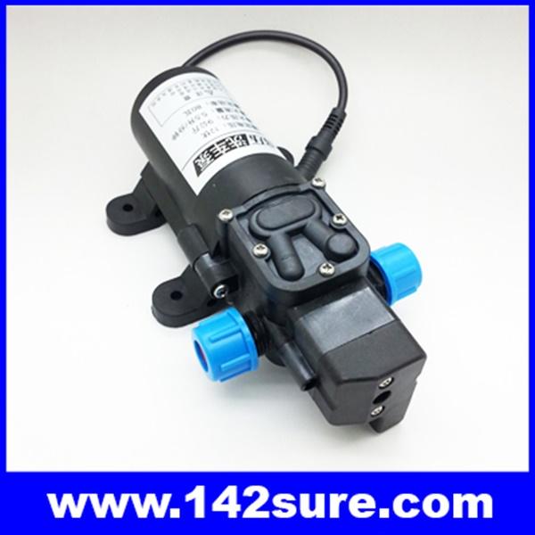 SOP036 ปั้มน้ำโซล่าปั้ม โซล่าปั้มน้ำดีซี แรงดันไฟ12VDC กำลังไฟ80W ส่งน้ำได้70เมตร Micro diaphragm pump