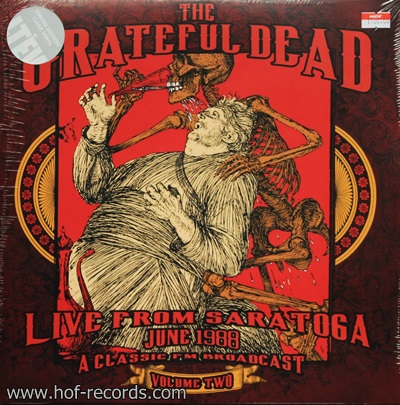 The Grateful Dead - Live From Saratoga June 1988 Volum Two 2Lp N.