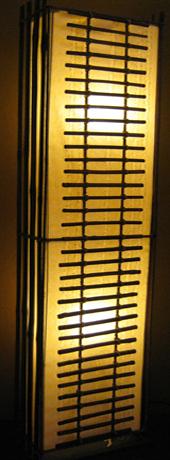 โคมไฟไม้ไผ่แบบตั้งพื้น Bamboo Floor Lamp