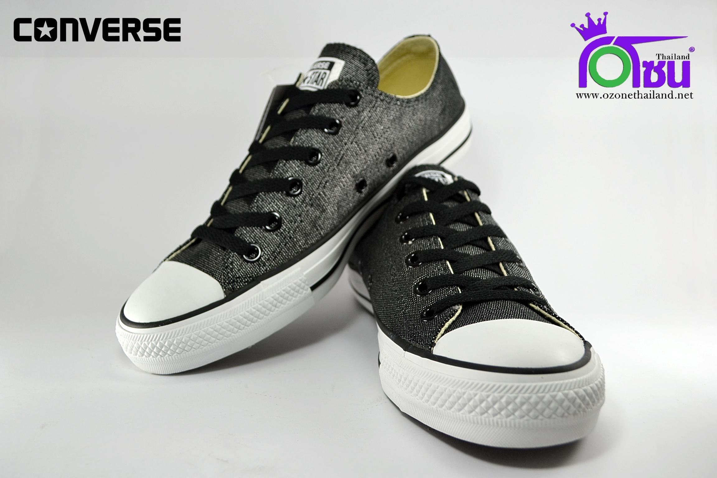 รองเท้าผ้าใบ CONVERSE ALL STAR GLITTER OX BLACK เบอร์ 7,8,9