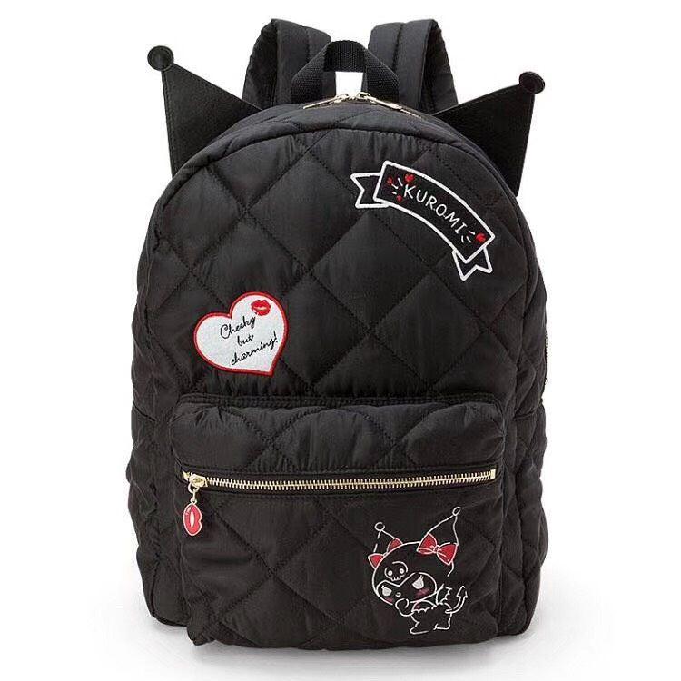 พร้อมส่ง :: กระเป๋าเป้ Kuromi 27x14x36 cm