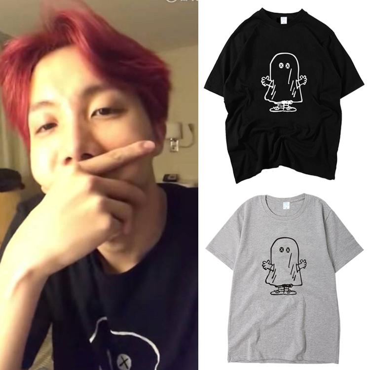 เสื้อยืด (T-Shirt)ลายการ์ตูน แบบ J-hope