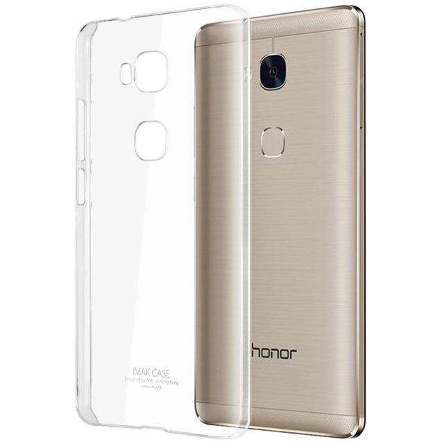 Case Huawei GR5 2016 ยี่ห้อ imak ll (เคสใสแข็ง) เคลือบสารกันรอยขีดข่วน