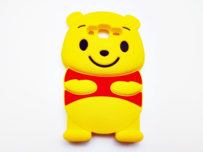 เคสซิลิโคน 3D Pooh ซัมซุง J2