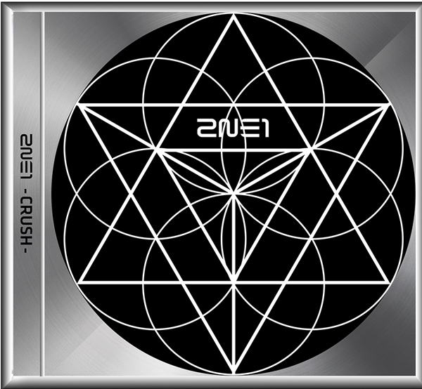 2NE1-2ND ALBUM CRUSH - BLACK DEITION