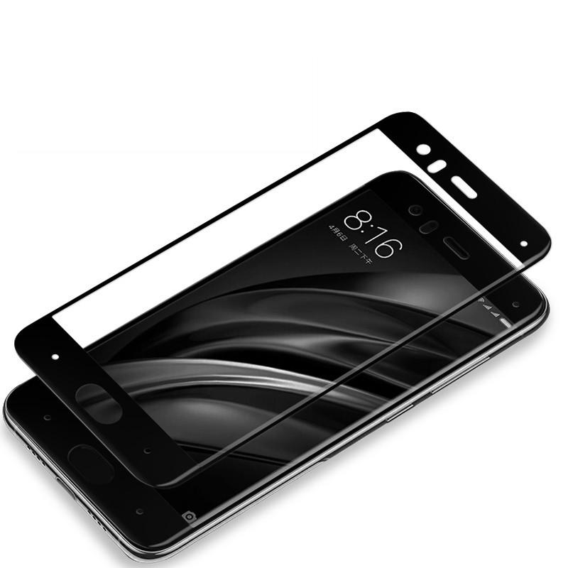 ฟิมกระจกเต็มจอ Xiaomi Mi 6 (ฺBlack)
