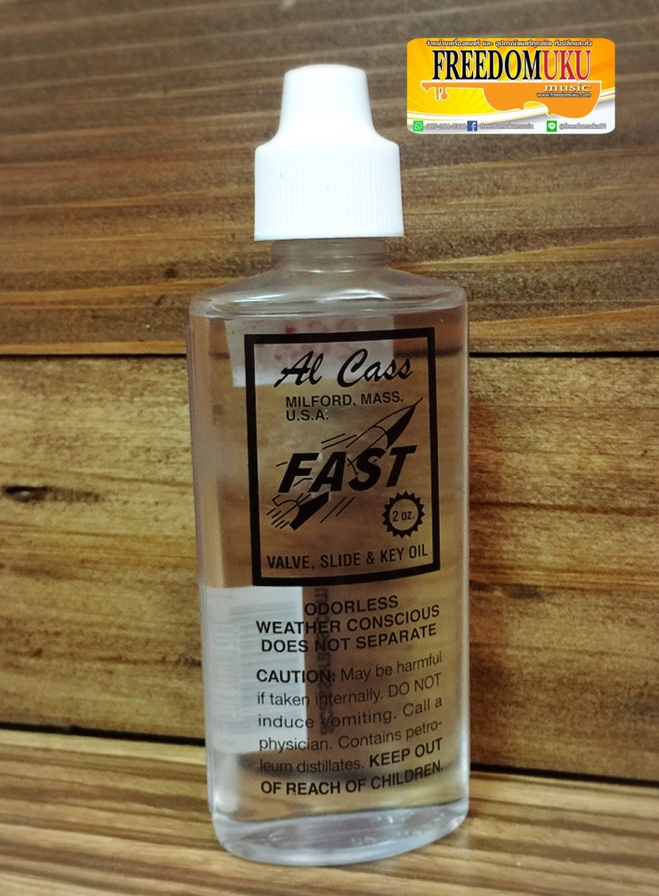 Al Cass FAST -Valve , Slide & Key Oil