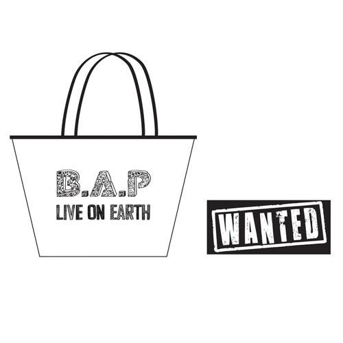 B.A.P : OFFICIAL GOODS BEACH BAG BADMAN