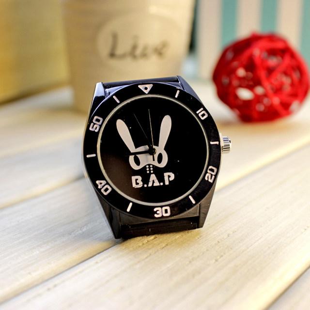 นาฬิกา B.A.P (กันน้ำ) สีดำ