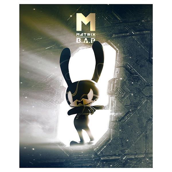 B.A.P - Mini Album Vol.4 [MATRIX] (Special M Ver.) + Poster