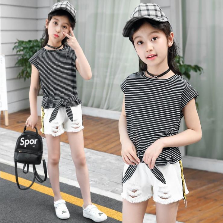 เสื้อ+กางเกง แพ็ค 5 ชุด ไซส์ 120-130-140-150-160 (เลือกไซส์ได้)