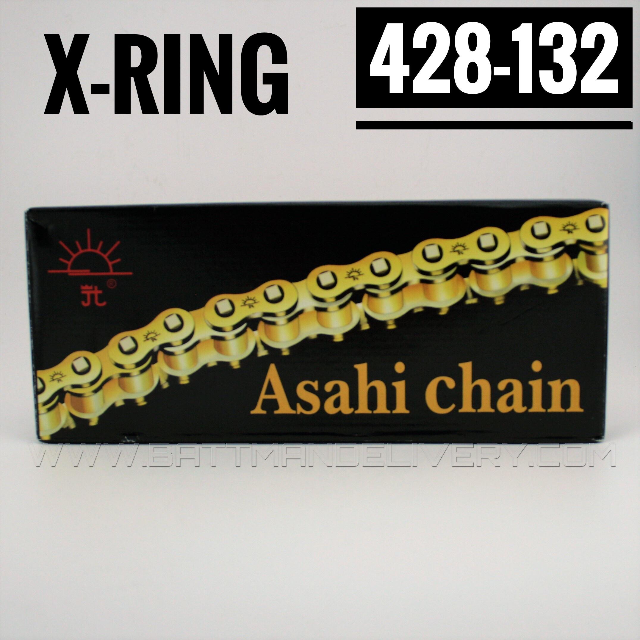 โซ่พระอาทิตย์ X-RING 428-132SL มีกิ๊ปล็อค