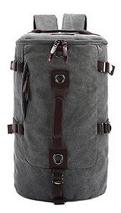 กระเป๋าเป้เดินทาง ผู้ชาย สีเทา