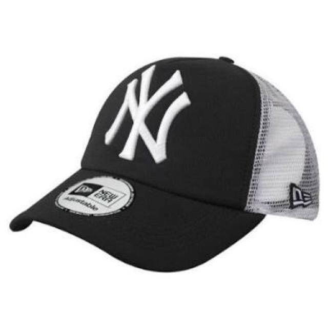หมวก NEW ERA Trucker Cap NY สีดำ