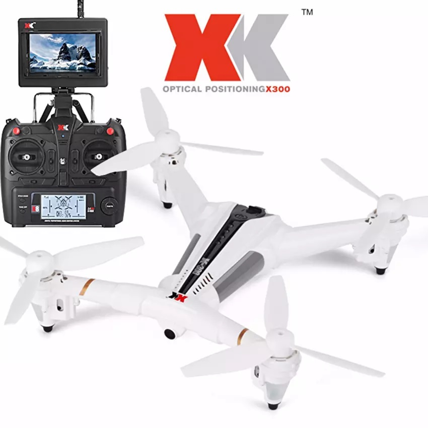 โดรนติดกล้อง ความละเอียดสูง พร้อม optical censor Drone xkx 300 fpv display 2017 สุดแรง ติดกล้องความละเอียดสูง รุ่น มีจอดูภาพ พร้อมระบบถ่ายทอดสดแบบ Realtime(NEW ระบบ ล็อกความสูง)