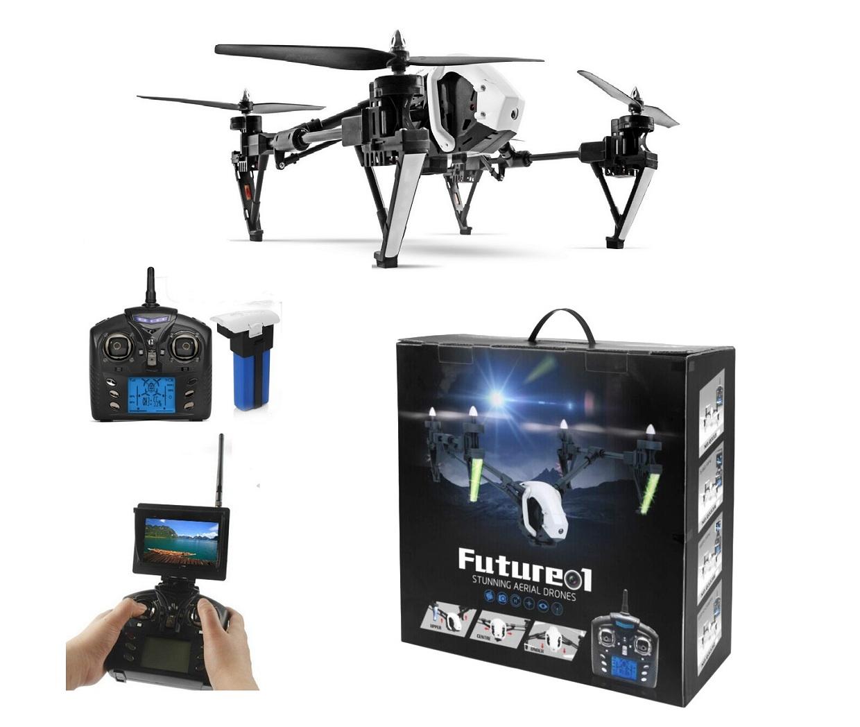 โดรนติดกล้องความละเอียดสูง รุ่น มีจอดูภาพ Q333 future (พร้อมระบบถ่ายทอดสดแบบ Realtime) ของแท้