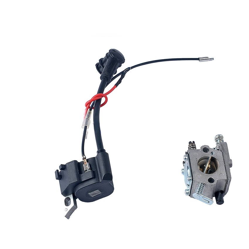 New Carburetor Carb + Ignition Coil W/ wires For STIHL MS170 MS180 017 018 Chainsaw Parts