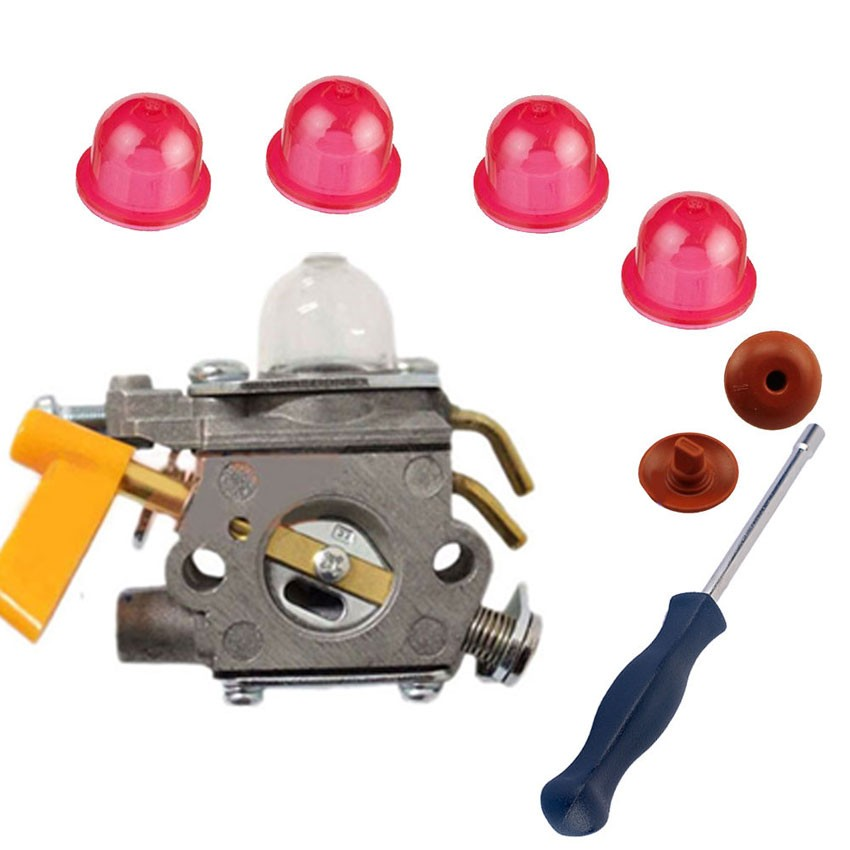 Carburetor Carb 308054013 308054012 FOR C1U-H60 26CC 30CC Homelite Ryobi Craftsman Brush Cutter Trimmer Blower W/ GIFT