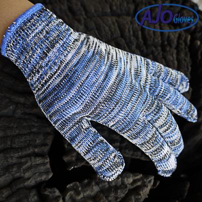 ถุงมือไมโครเทคคละสี
