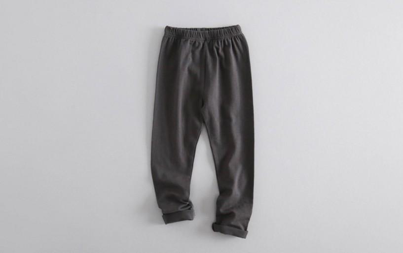 W035 : กางเกงสกินนี่ขายาวสีเทา (4,5,6)