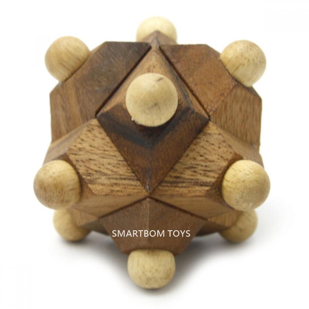 ดาวหัวปุ่มมหัศจรรย์ ของเล่นไม้ฝึกสมอง ของเล่นเสริมสร้างสติปัญญา