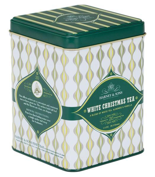 Harney & Sons - White Christmas Tea, HT Tin of 20 Sachets