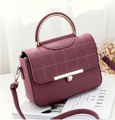 กระเป๋าถือ Rum leather (pink)
