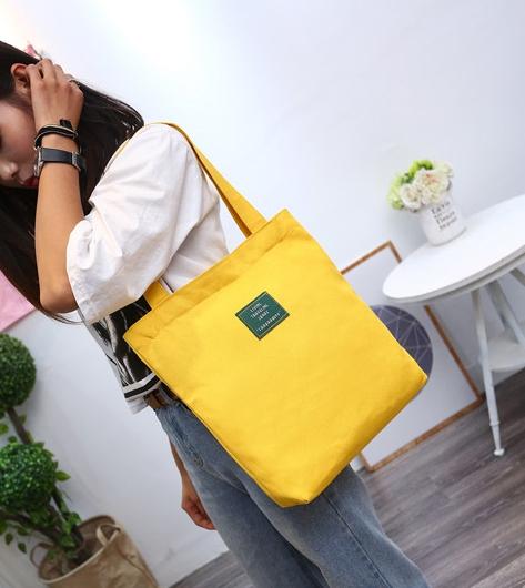 กระเป๋าผ้า LD003 Yellow