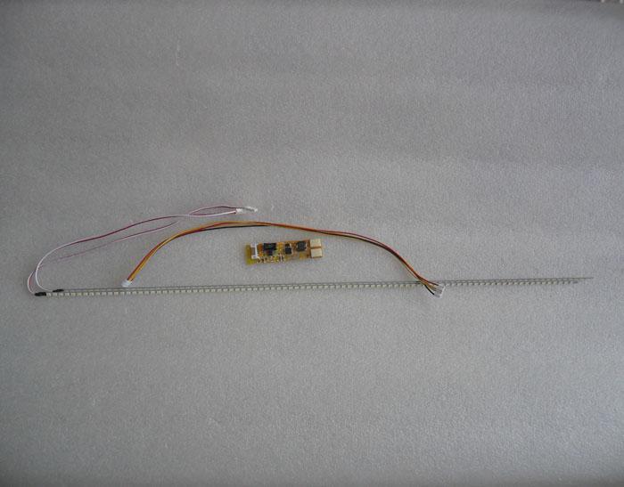 หลอด LED ใช้ดัดแปลงแทนหลอด LCD ที่หายากสำหรับจอมอนิเตอร์ (ยาว 53 cm LED 90 ดวง)