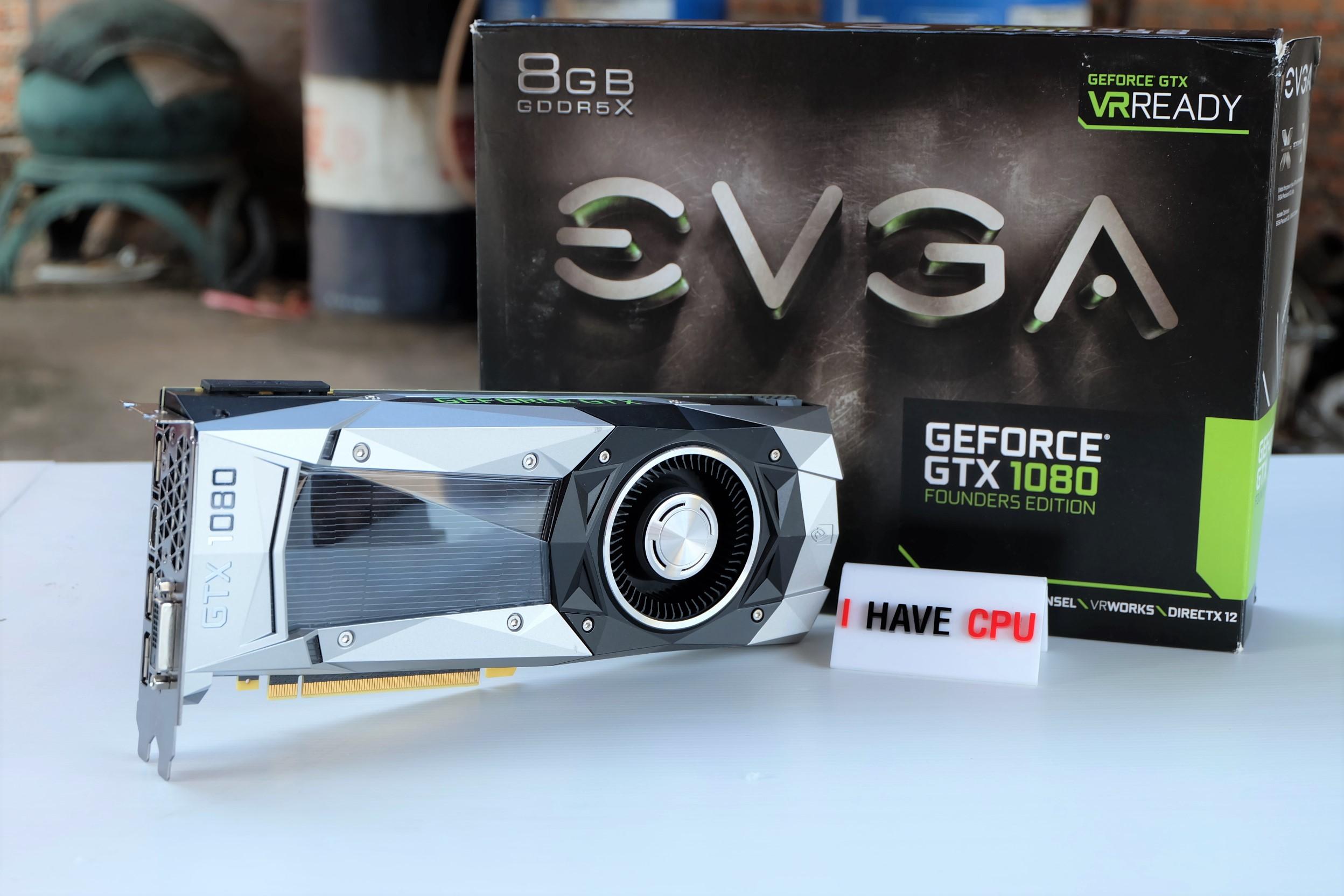 EVGA GTX 1080 8GB GDDR5X FE