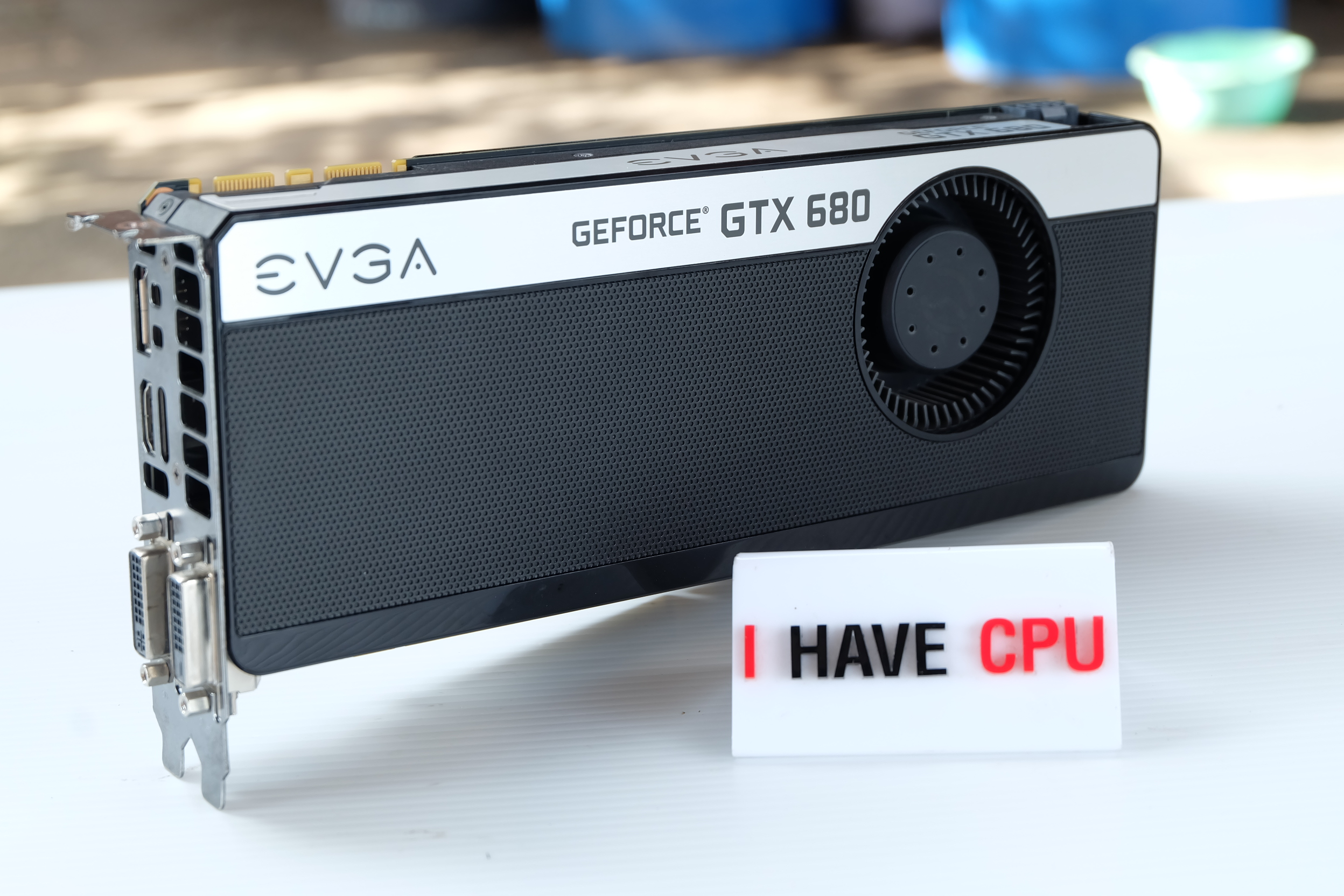 EVGA GeForce GTX 680+ 4GB w/Backplate
