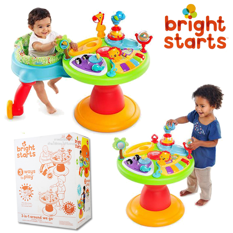 AWG Around we go รุ่น Zippity Zoo 3in1ของ Bright starts