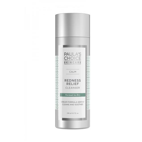 พร้อมส่ง (ลด20%): Paula's Choice พอลล่าช้อยส์ Calm Redness Relief Cleanser [Normal/Dry] 198ml