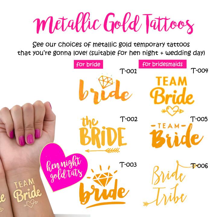 แทตทูเจ้าสาว Bride / Team Bride