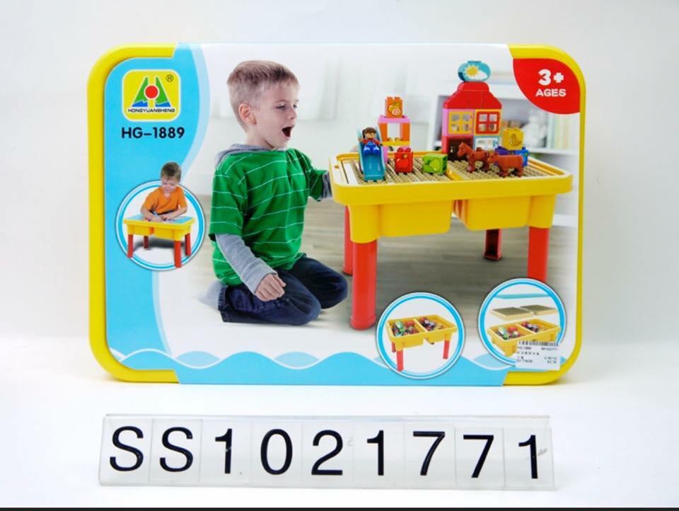 ชุดโต๊ะตัวต่อ 2 in 1