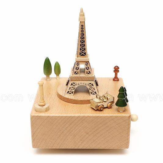 Music Box - Paris Eiffel Tower