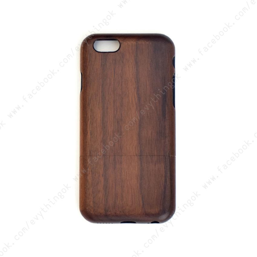 เคสไม้แท้ iPhone 6/6s ไม้วอลนัท