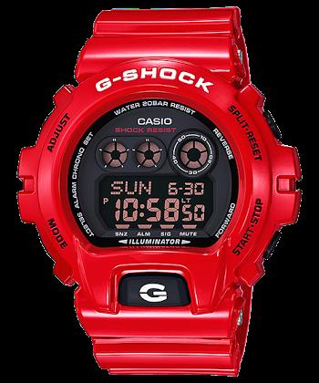 """นาฬิกา Casio G-Shock Limited model Solid Red RD series รุ่น GD-X6900RD-4 """"DUCATI"""" ของแท้ รับประกันศูนย์ 1 ปี (นำเข้าJapan กล่องหนังญี่ปุ่น)"""