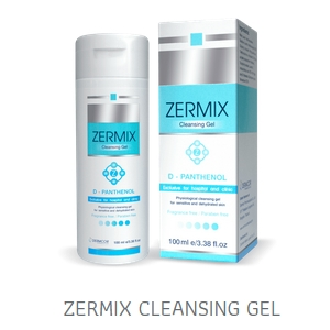 Zermix Cleansing Gel D-Panthenol 100ml. เซอมิกซ์ คลีนซิ่งเจล ดีแพนทีนอล เหมาะสำหรับผิวแห้ง ผิวแพ้ง่าย